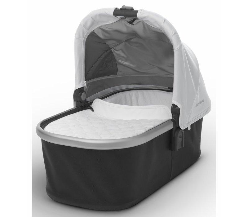 Uppa Baby Vista-Cruz Bassinet In Loic (White-Silver-Leather)
