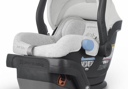 UppaBaby UppaBaby MESA Infant Car Seat With Base In Bryce (White And Grey Marl)