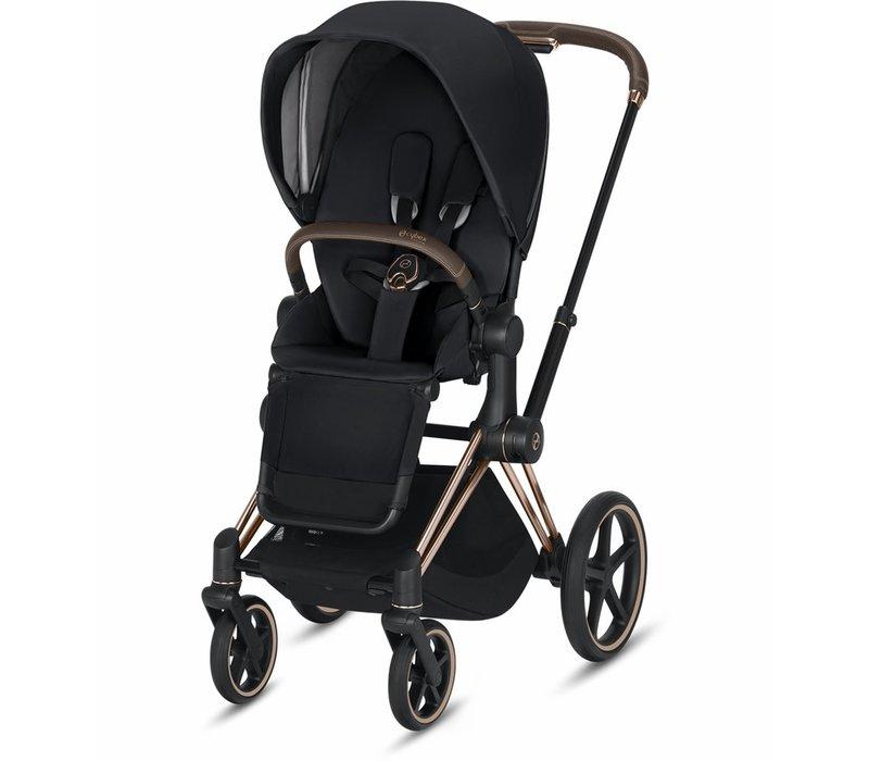 2019 Cybex Priam 3 Stroller - Rose Gold/Premium Black