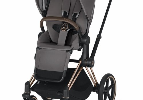 Cybex 2019 Cybex Priam 3 Complete Stroller - Rose Gold/Manhattan Grey