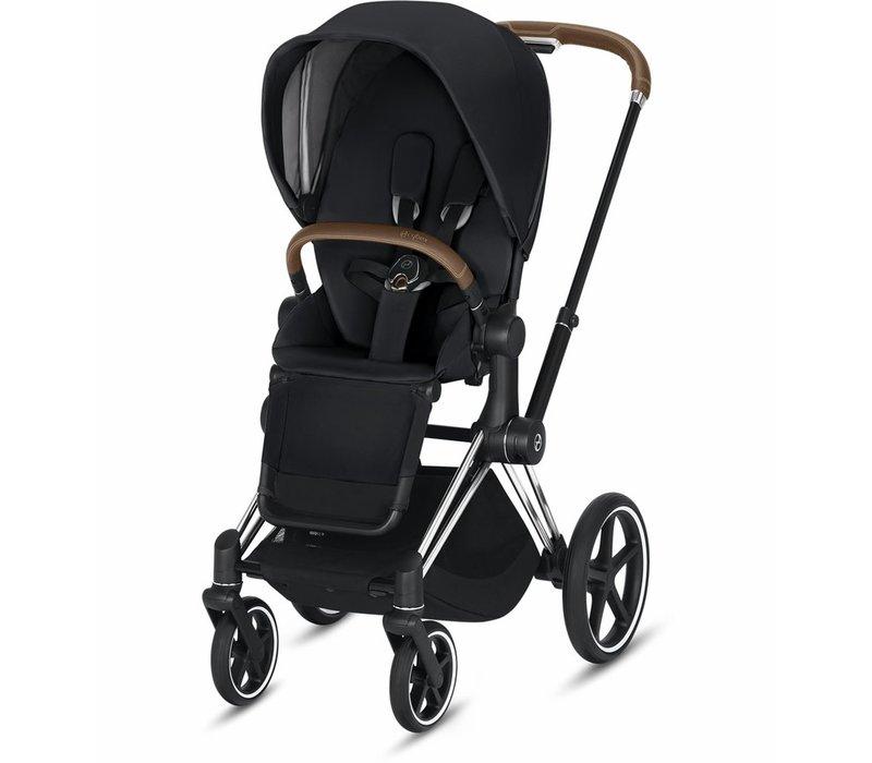 2019 Cybex Priam 3 Stroller - Chrome/Brown/Premium Black
