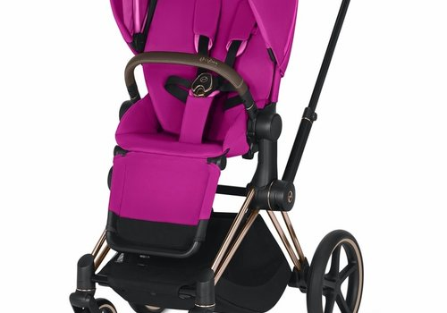 Cybex 2019 Cybex Priam 3 Complete Stroller - Rose Gold/Fancy Pink