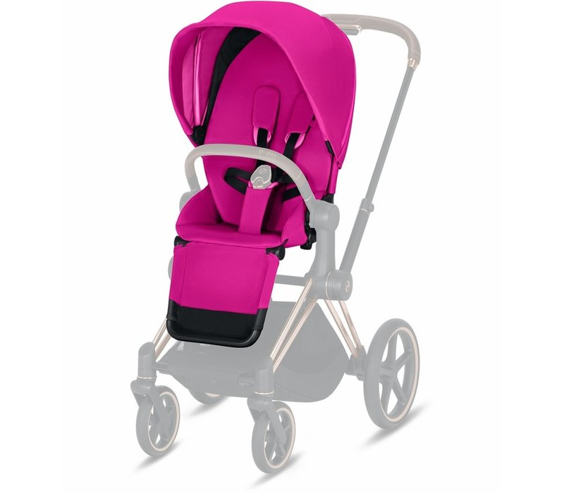2019 Cybex Priam 3 Seat Pack In Fancy Pink