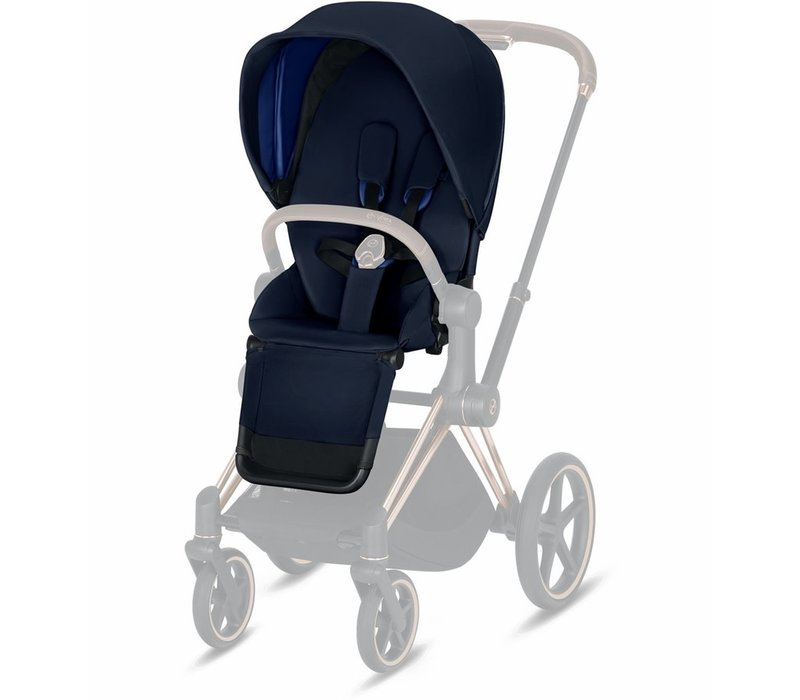 2019 Cybex Priam 3 Seat Pack In Indigo Blue