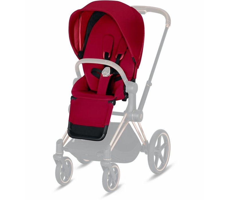 2019 Cybex Priam 3 Seat Pack In True Red