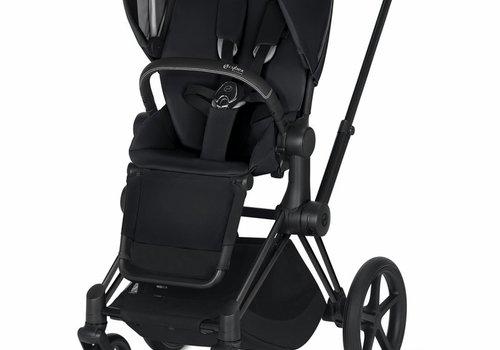 Cybex 2020 Cybex ePriam Matte Black frame + Premium Black seat