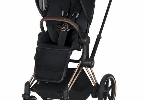Cybex 2020 Cybex ePriam Rose Gold frame + Premium Black Seat