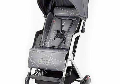 Diono Diono Traverze Editons Compact Stroller In Grey Linear