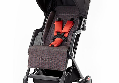 Diono Diono Traverze Editons Compact Stroller In Charcoal Copper Hive