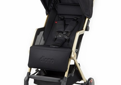 Diono Diono Traverze Luxe Compact Stroller In Black Gold