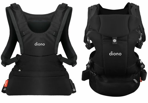Diono Diono Carus Baby Carrier In Black