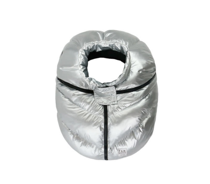 7 A.M. Car Seat Cover - Cocoon In Glacier 0-12 Months