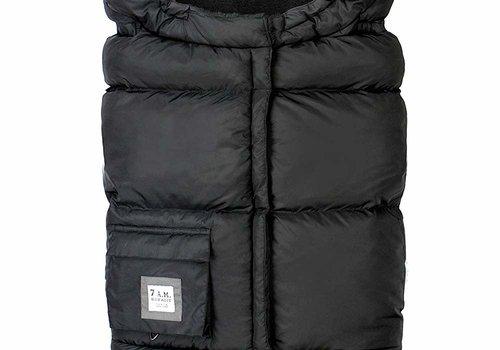 7 AM 7 A.M. Enfant Evolution 212 Blanket In Black Plush- 6 Months -4 Toddler