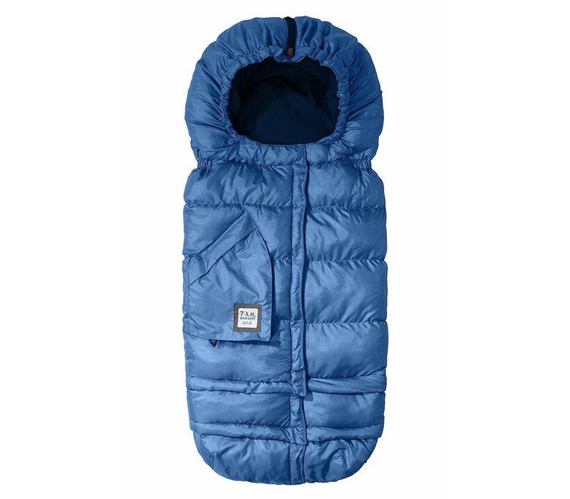 7 A.M. Enfant Evolution 212 Blanket In Metallic Yale Blue- 6 Months -4 Toddler