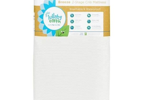 Lullaby Earth Lullaby Earth Breeze Crib Mattress In White