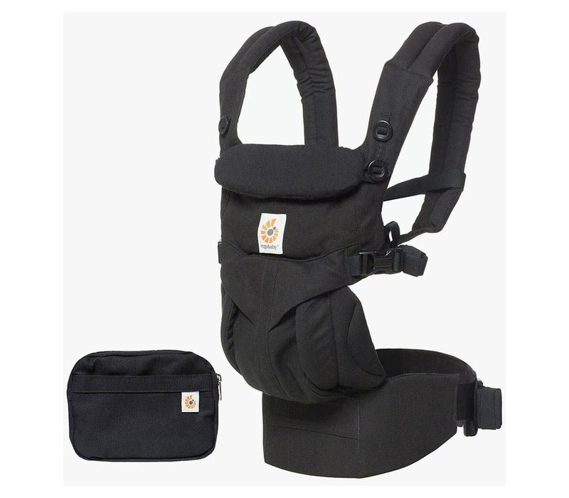 Ergo Baby Omni 360 Baby Carrier All-In-One Pure Black