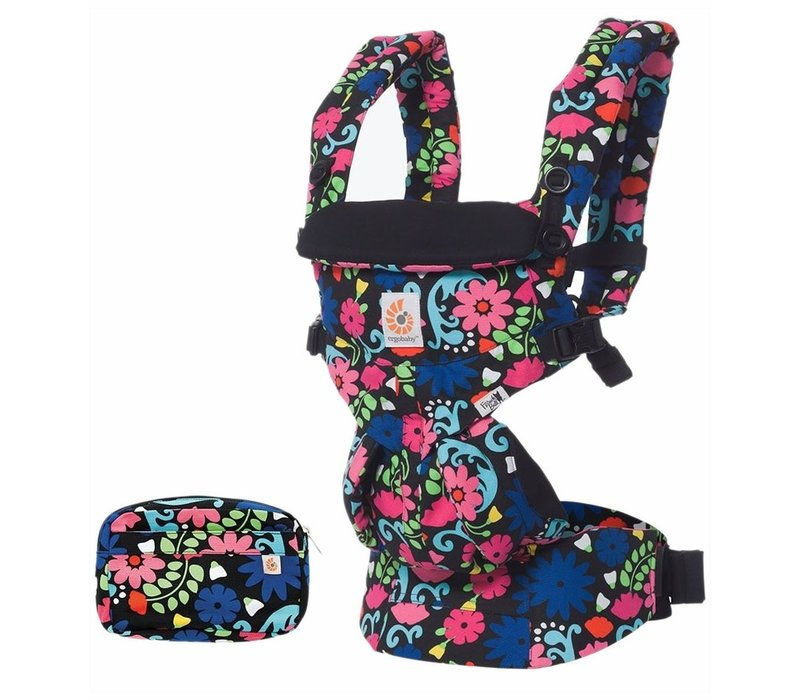Ergo Baby Omni 360 Baby Carrier All-In-One French Bull- Flores