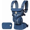 ERGObaby Ergo Baby Omni 360 Cool Air Mesh Baby Carrier All-In Blue Blooms