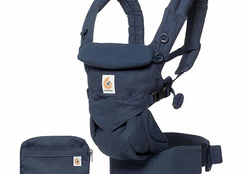 ERGObaby Ergo Baby Omni 360 Cool Air Mesh Baby Carrier All-In Midnight Blue