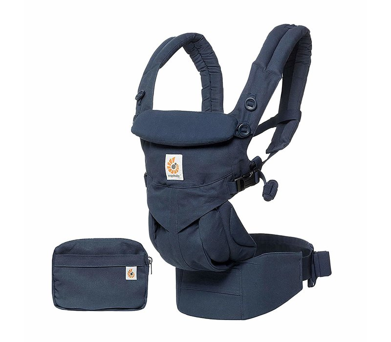 Ergo Baby Omni 360 Cool Air Mesh Baby Carrier All-In Midnight Blue
