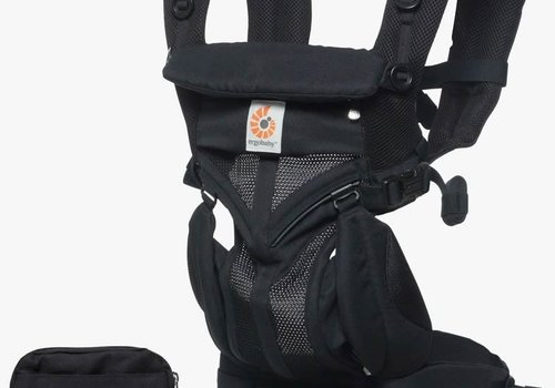 ERGObaby Ergo Baby Omni 360 Cool Air Mesh Baby Carrier All-In Onyx Black