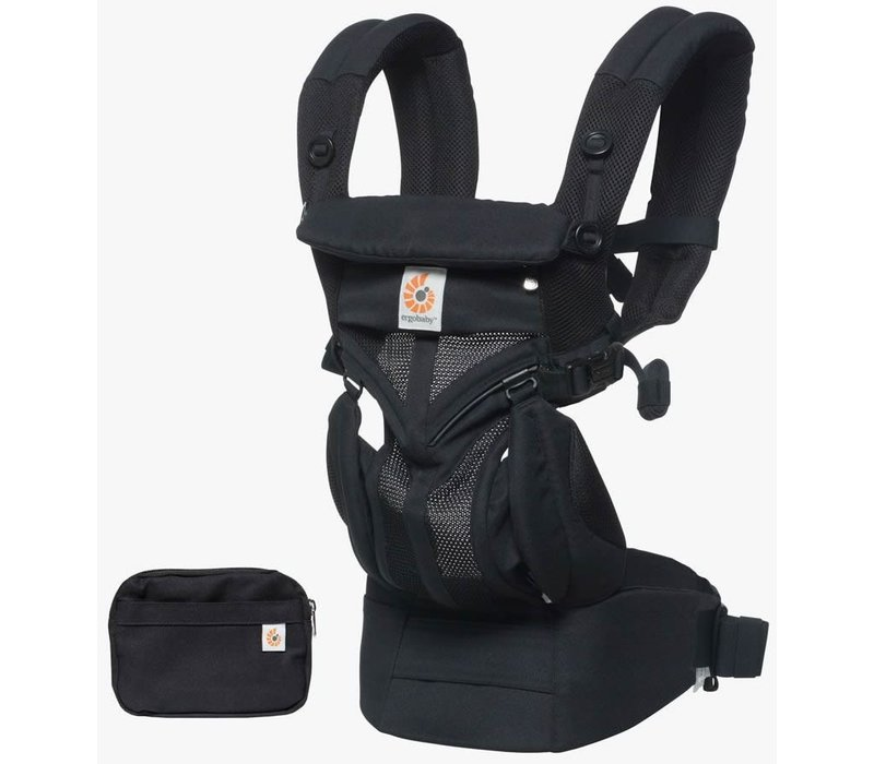 Ergo Baby Omni 360 Cool Air Mesh Baby Carrier All-In Onyx Black