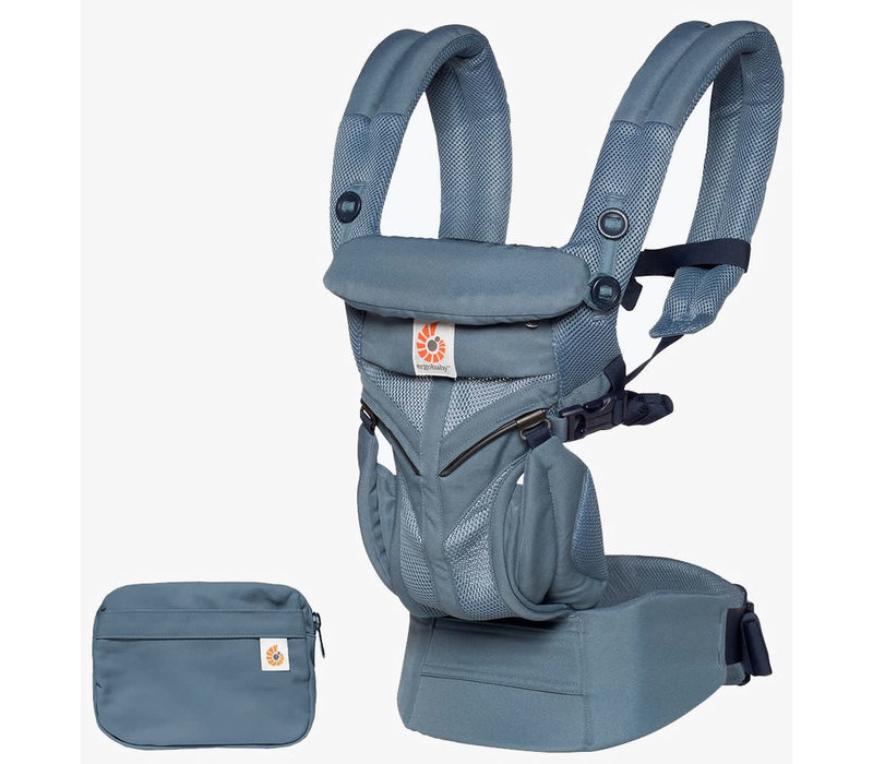 Ergo Baby Omni 360 Cool Air Mesh Baby Carrier All-In Oxford Blue