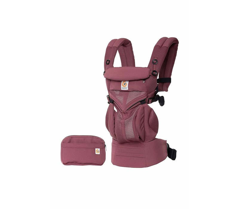 Ergo Baby Omni 360 Cool Air Mesh Baby Carrier All-In Plum