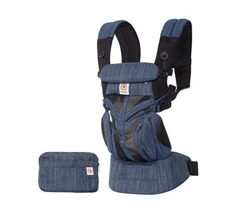 Ergo Baby Omni 360 Mesh Baby Carrier All-In- Indigo Weave