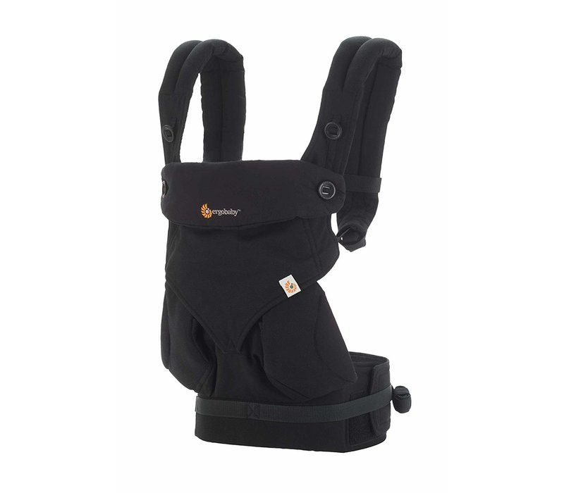 Ergo Baby 360 Baby Carrier In Pure Black