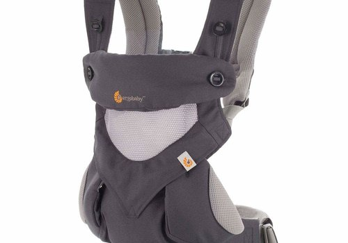 ERGObaby Ergo Baby 360 Cool Air Mesh Baby Carrier In Carbon Grey