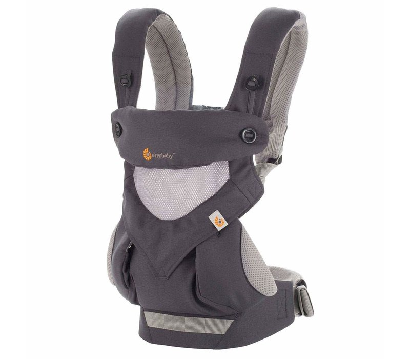Ergo Baby 360 Cool Air Mesh Baby Carrier In Carbon Grey