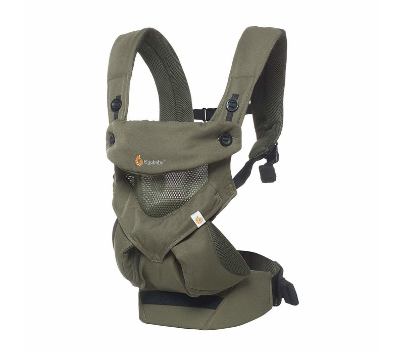 Ergo Baby 360 Cool Air Mesh Baby Carrier In Khaki Green