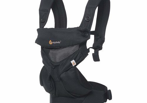 ERGObaby Ergo Baby 360 Cool Air Mesh Baby Carrier In Onyx Black