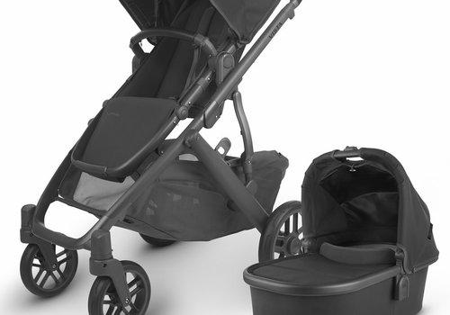 UppaBaby 2020 Uppa Baby Vista V2 Stroller In Jake (black/carbon/black leather)