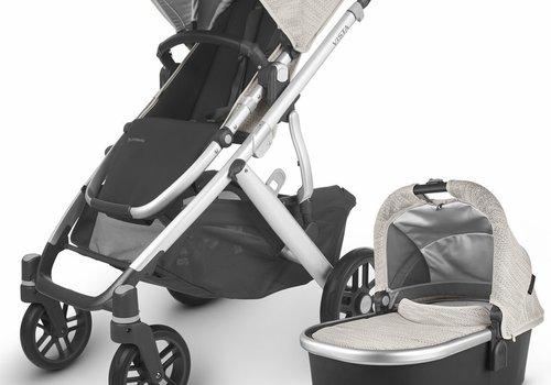 UppaBaby 2020 Uppa Baby Vista V2 Stroller In Sierra (Dune Knit/Silver/Black Leather)