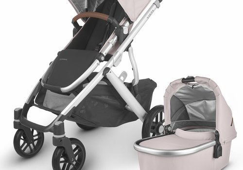 UppaBaby 2020 Uppa Baby Vista V2 Stroller In Alice (dusty pink/silver/saddle leather)