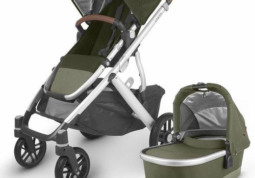 UppaBaby 2020 Uppa Baby Vista V2 Stroller In Hazel (olive/silver/saddle leather)
