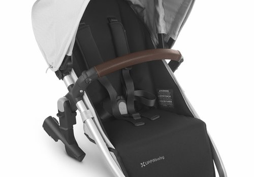 UppaBaby 2020 Uppa Baby Vista Rumble Seat V2 (Only) In BRYCE (white marl/silver/chestnut leather)