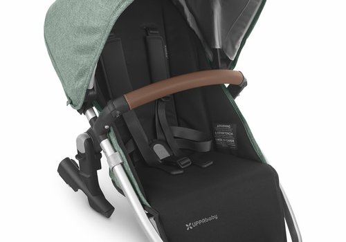 UppaBaby 2020 Uppa Baby Vista Rumble Seat V2 (Only) In EMMETT (green mélange/silver/saddle leather)