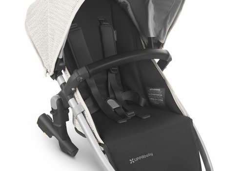 UppaBaby 2020 Uppa Baby Vista Rumble Seat V2 (Only) In SIERRA (dune knit/silver/black leather)