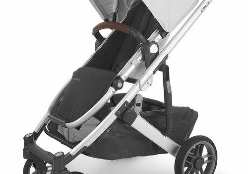 UppaBaby Uppa Baby Cruz V2 Stroller In BRYCE (white marl/silver/chestnut leather)