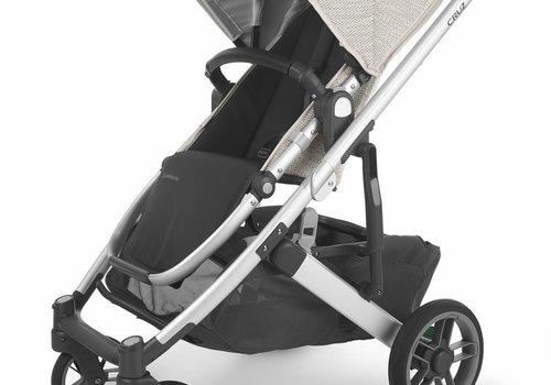 UppaBaby Uppa Baby Cruz V2 Stroller In SIERRA (dune knit/silver/black leather)
