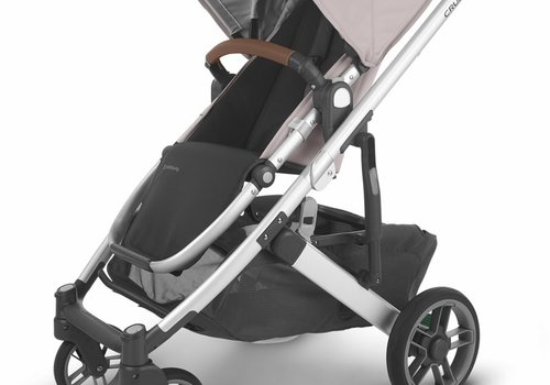 UppaBaby Uppa Baby Cruz V2 Stroller In ALICE (dusty pink/silver/saddle leather)