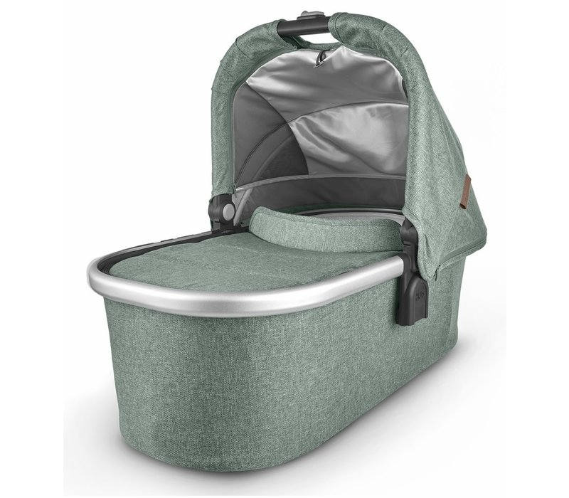 Uppa Baby Vista-Cruz V2 Bassinet- EMMETT (green mélange/silver/saddle leather)