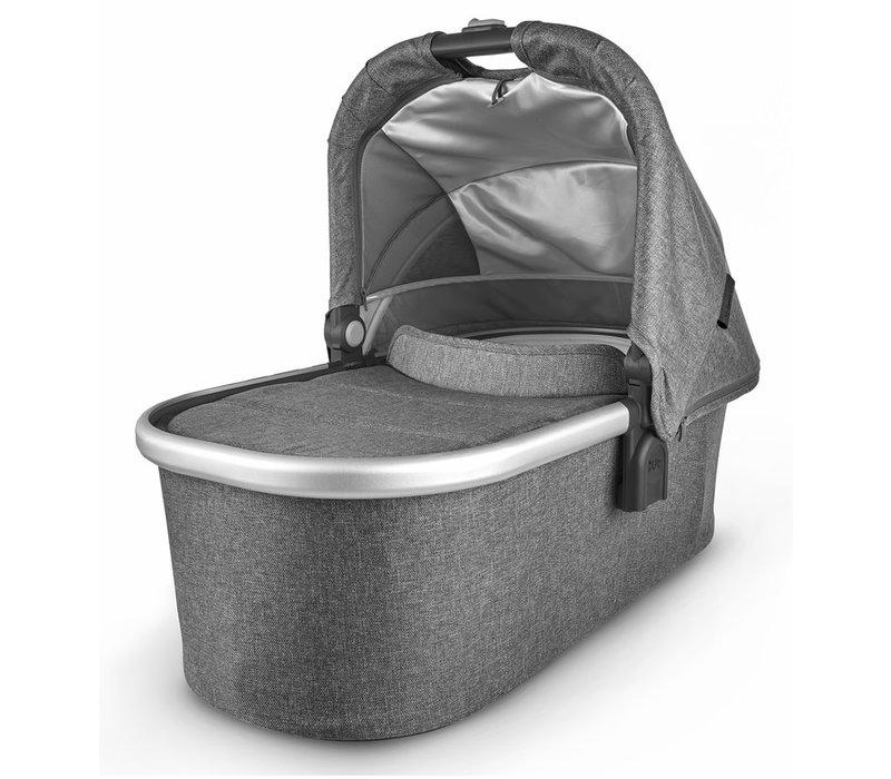 Uppa Baby Vista-Cruz V2 Bassinet - JORDAN (charcoal mélange/silver/black leather)