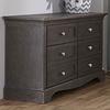 Pali Furniture Pali Furniture Ragusa Double Dresser In Distressed Granite