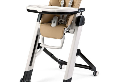 Peg-Perego Peg Perego Prima Siesta High Chair In Noce Beige and Tan