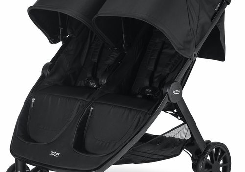 Britax Britax B-Lively Double Stroller In Raven
