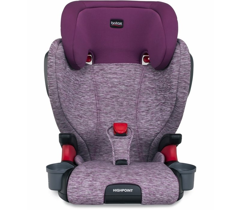 Britax Highpoint Booster Seat In Mulberry (2 Piece)